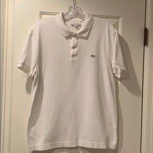 Men's Lacoste Polo shirt - size L